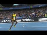 Самый быстрый человек на планете Усэйн Болт 100 метровка 9.69
